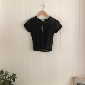 NWT medium garage mesh t-shirt